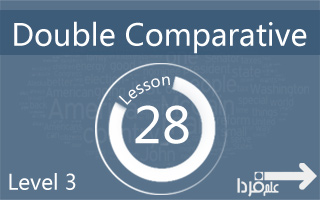 ساختار Double Comparative